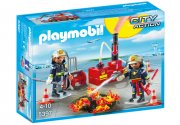 playmobil city action 5397 - brandslukningsudstyr - Playmobil