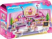 playmobil city life 9080 - cupcake shop - Playmobil