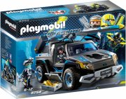 playmobil top agents 9254 - dr. drones pickup - Playmobil