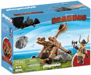 playmobil dragons 9245 - gobber med katapult - Playmobil