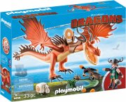 playmobil drager - snotfjæs og krogtand - Playmobil
