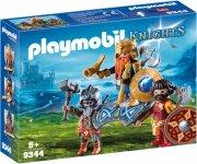 playmobil knights - dværgekonge med garder - 9344 - Playmobil