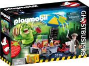 playmobil ghostbusters 9222 - slimer med pølsebod - Playmobil
