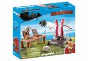 playmobil drager - gorbert knaldræb med fåreslynge - Playmobil