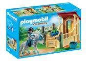 playmobil hestestald med appaloosa hest - Playmobil