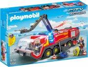 playmobil city action 5337 - lufthavnsbrandbil med lys og lyd - Playmobil