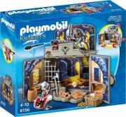 playmobil - my secret knights' treasure room play box (6156) - Playmobil