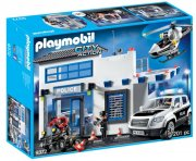 playmobil city action 9372 - politistation - Playmobil