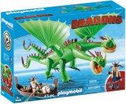 playmobil drager - benknold og stenknold med bøvs og bræk - 9458 - Playmobil