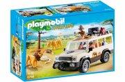 playmobil - safari truck med løver (6798) - Playmobil