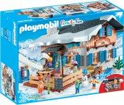 playmobil family fun 9280 - skihytte - Playmobil