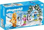 playmobil skiskole sæt - family fun - Playmobil