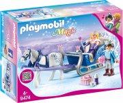 playmobil magic - slæde med kongepar - Playmobil