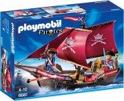 playmobil pirates 6681 - soldatskib med kanoner - Playmobil