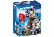 playmobil - soldater med fyrtårn (6680) - Playmobil