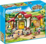 playmobil 6926 - stort ridecenter - Playmobil