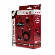 playstation 3 core pack med bluetooth headset, hdmi kabel og usb kabel - Konsoller Og Tilbehør