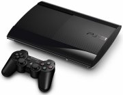 ps3 slim konsol / playstation 3 super slim konsol - 12gb eu - Konsoller Og Tilbehør