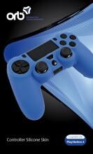 playstation 4 controller skin - orb - blå - Konsoller Og Tilbehør