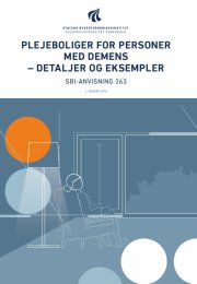 plejeboliger for personer med demens - detaljer og eksempler - bog