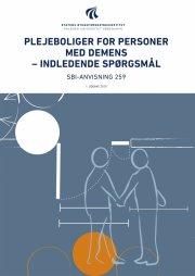 plejeboliger for personer med demens - indledende spørgsmål - bog