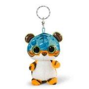 tiger bamse nøglering - fraff - 9 cm - Bamser