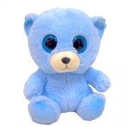 bamse bjørn - blå - Bamser