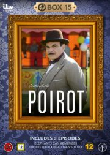 poirot - boks 15 - DVD