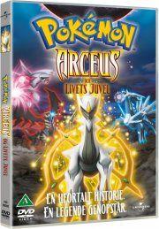 pokémon: arceus and the jewel of life - DVD