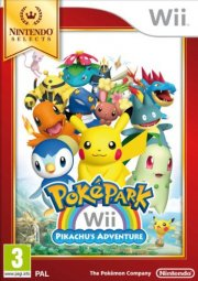 pokepark wii: pikachu's adventure (selects) - wii