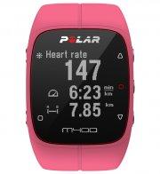 polar m400 løbeur / pulsur - gps ur - lyserød - Sportsudstyr