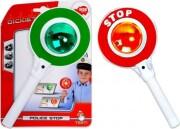 politi legetøj - stop skilt - Rolleleg