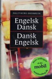 politikens engelsk-dansk, dansk-engelsk - bog