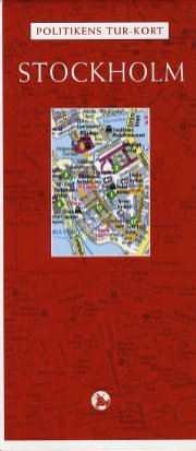 politikens tur-kort stockholm - bog