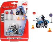 politimotorcykel legetøj - 10 cm - Køretøjer Og Fly