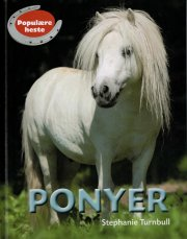 populære heste - ponyer - bog