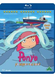 ponyo - på klippen ved havet / ponyo - by the cliff by the sea - Blu-Ray