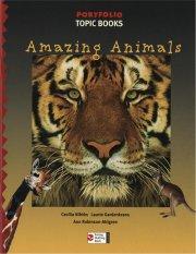 portfolio, topic books, amazing animals - bog