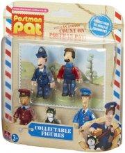 postmand per figurer - per, emil, politibetjent søby, ajay og teddy - Figurer