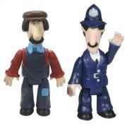 postmand per figurer - politibetjent søby og teddy - Figurer