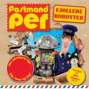 postmand per - fjollede robotter - lydknapbog - bog