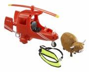 postmand per - rednings helikopter med ko - Figurer