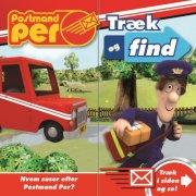 postmand per, træk og find - bog