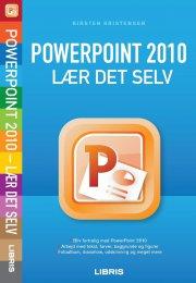 powerpoint 2010 - lær det selv - bog