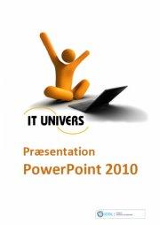 præsentation powerpoint 2010 - bog