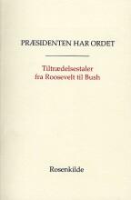 præsidenten har ordet - bog