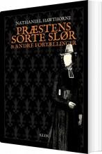 præstens sorte slør og andre fortællinger - bog