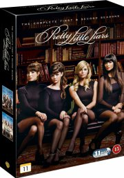 pretty little liars - sæson 1+2 - DVD