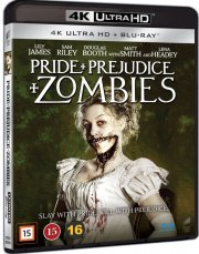 pride and prejudice and zombies - 4k Ultra HD Blu-Ray