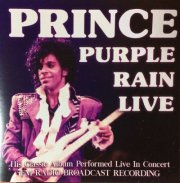 prince - purple rain - live - cd